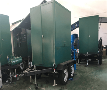 1 ZYS-M-70 Mobile trailer vacuum oil purifier