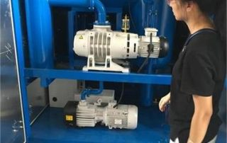 14 ZYD-II-50 Transformer oil filtration machine for HK station