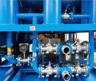 14.1 ZYD-II-50 Transformer oil filtration machine for HK station