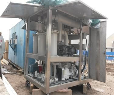 17 ZYD-I-150 Transformer oil purifier
