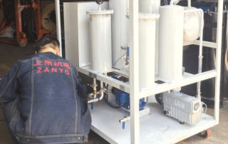 18 ZYT-30 vacuum turbine oil filtration machine