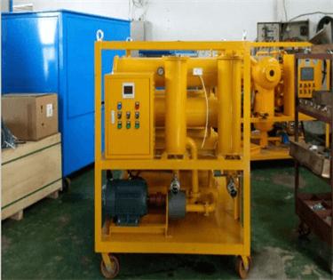 2 ZYR-90 Hydraulic oil decoloring machinery