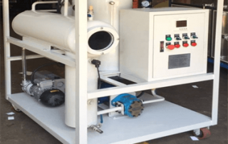 22 ZYW Vacuum Oil Dehydration Device On Field Assembly Commissioning