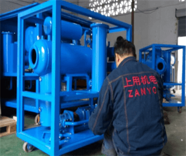 3 ZYS-50 single stage vacuum transformer oil filtration machine