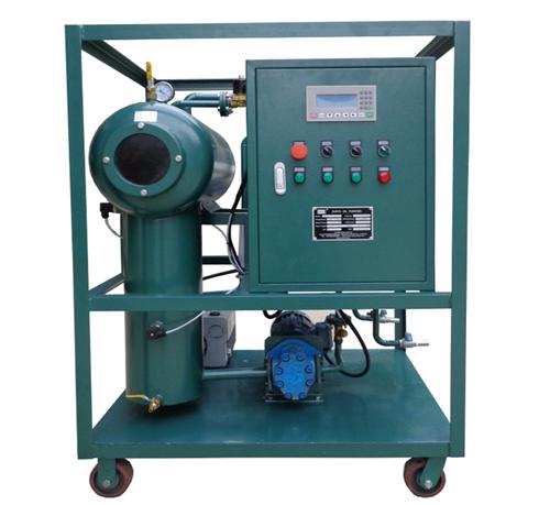 Transformer Oil Filtration Device