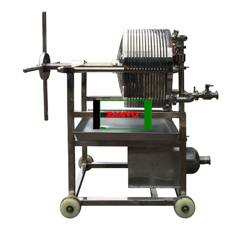 Plate Pressure Cooking Oil Filtration Machine-01