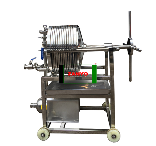 Plate Pressure Cooking Oil Filtration Machine-02