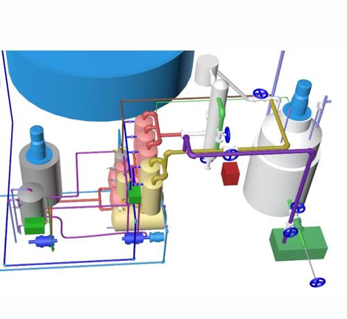 ZYG Waste Oil Vacuum Distillation Plant
