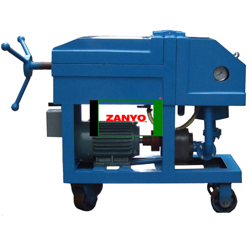 ZYP Plate Pressure Oil Purification Device-02