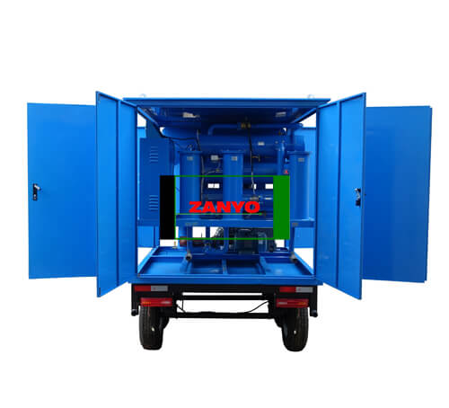 Transformer Oil Purifier with Double-axle Trailer-ZANYO-01