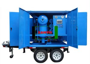 Transformer Oil Purifier with Double-axle Trailer-ZANYO-03