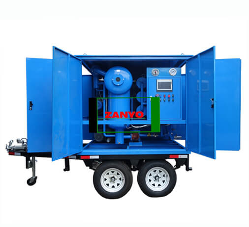 Transformer Oil Purifier with Double-axle Trailer-ZANYO-03