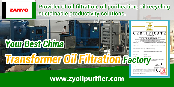Your-Best-China-Transformer-Oil-Filtration-Factory-ZANYO