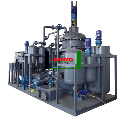 ZYEB Waste Motor Oil Recycling Machine