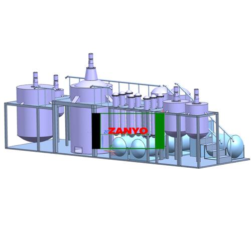 ZYGD Black Engine Oil To Diesel Oil Distillation Machine-01