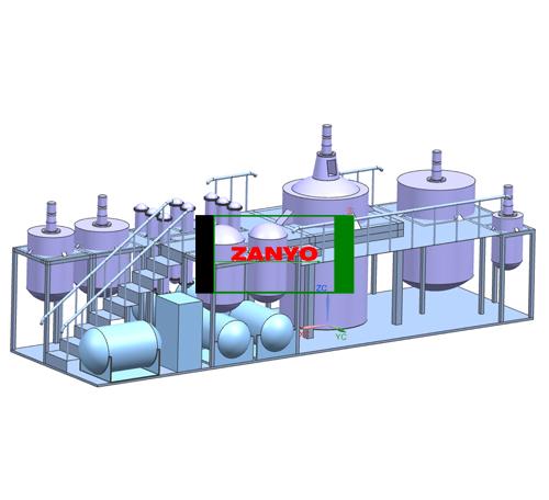 ZYGD Black Engine Oil To Diesel Oil Distillation Machine-02