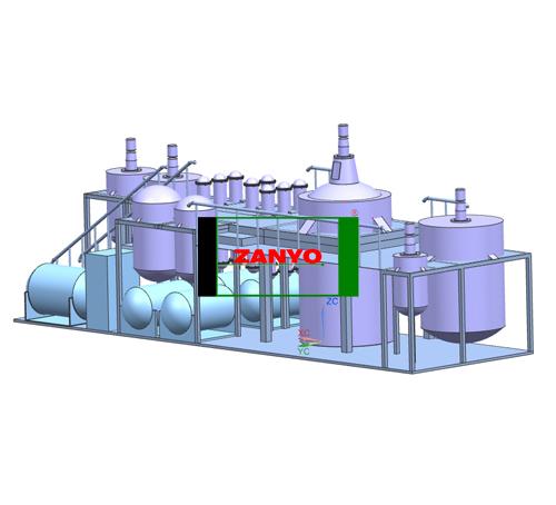 ZYGD Black Engine Oil To Diesel Oil Distillation Machine-03