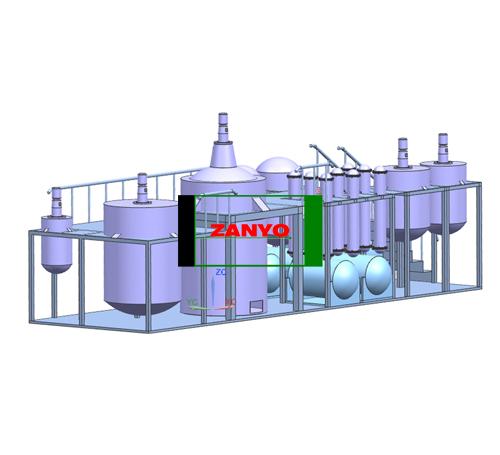 ZYGD Black Engine Oil To Diesel Oil Distillation Machine-04
