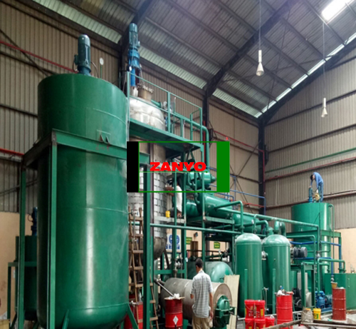 ZYGD Waste Oil Pyrolysis Machinery-01