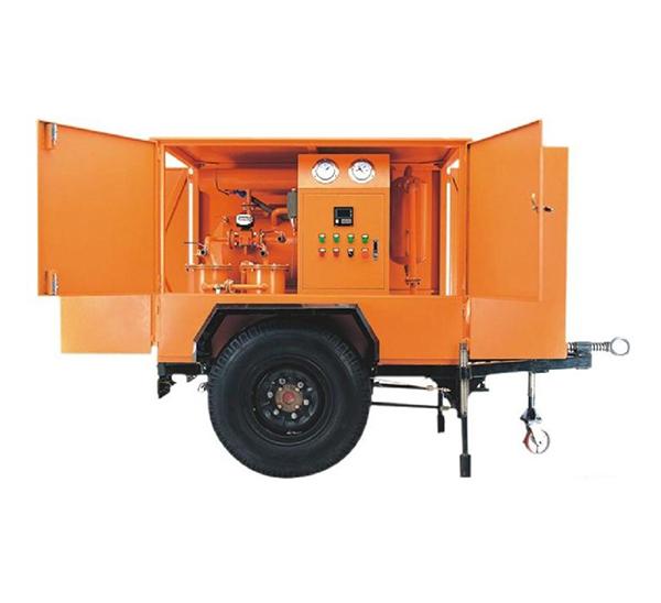 Insulation Oil Purification Machine with Single Axle Trailer 03 ZANYO