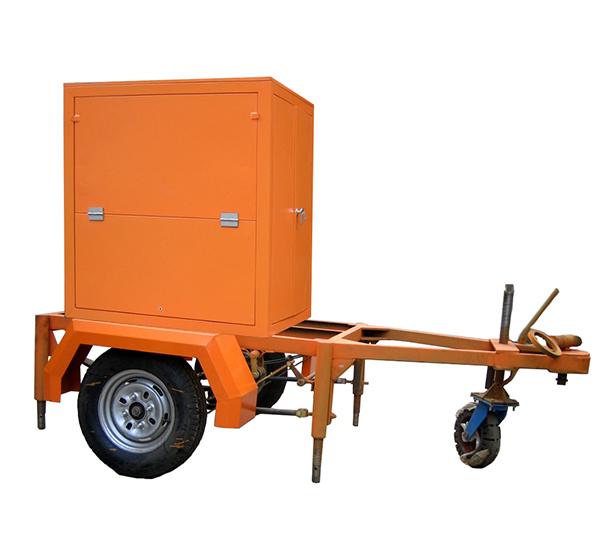 Insulation Oil Purification Machine with Single Axle Trailer 04 ZANYO