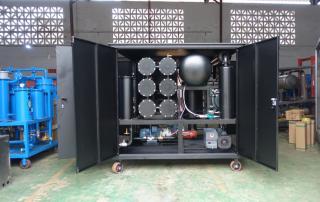 Transformer oil purification machine for Ecuador