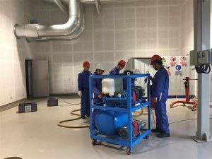 Vacuum Centrifugal Oil Purifier Works For Factory