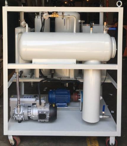 vacuum oil purifier system