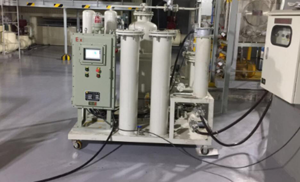 Lube Oil Filtration Machine ZANYO 02